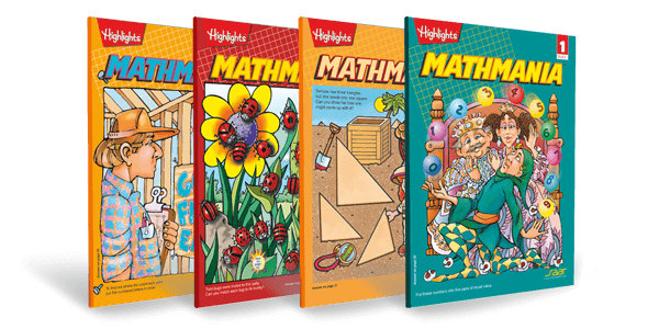 Mathmania - Book 1 to 4