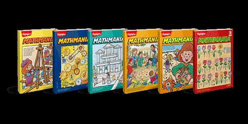 Mathmania - Book 1 to 6